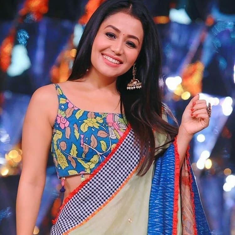 neha-kakkar-deisgner-hollywood-sarees
