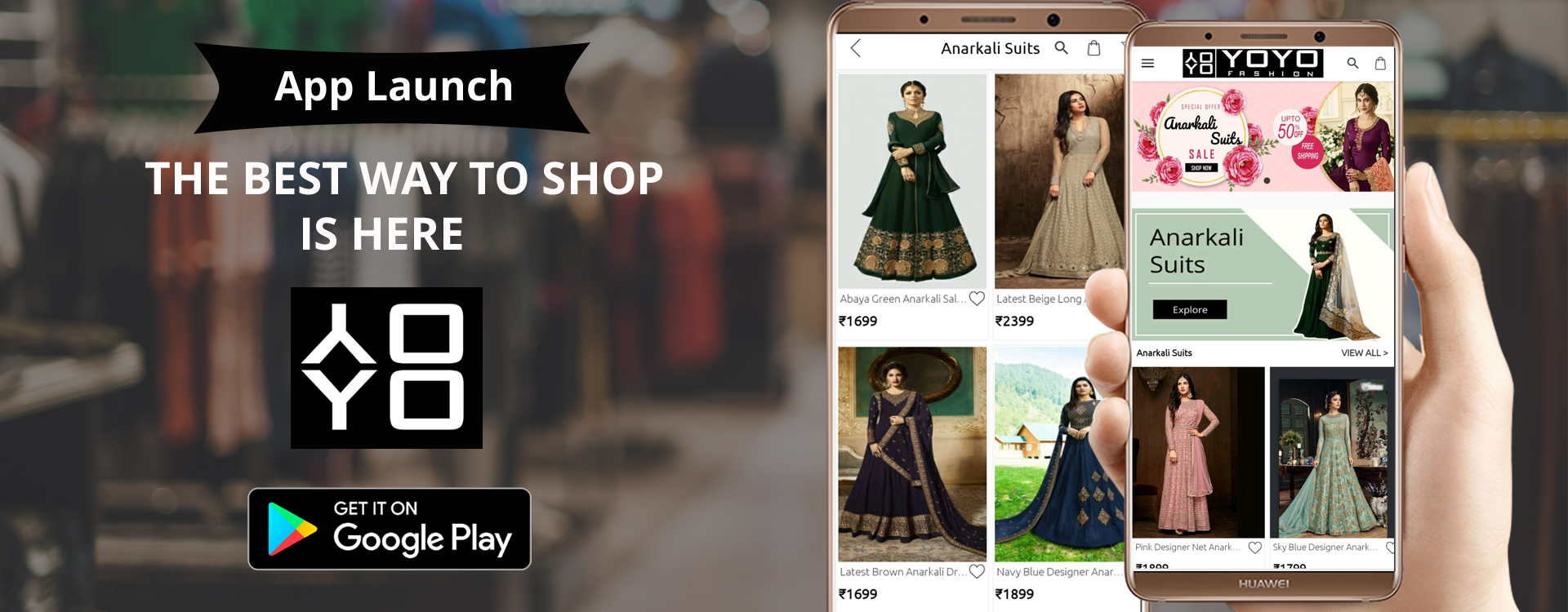 Download YOYO Fashion Online Shopping App