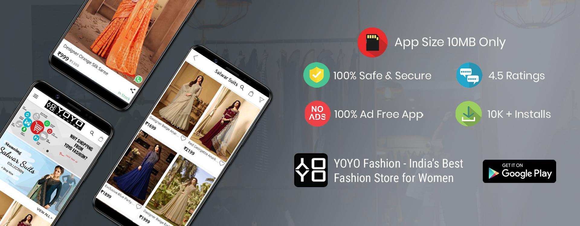 Download YOYO Fashion Online Shopping App