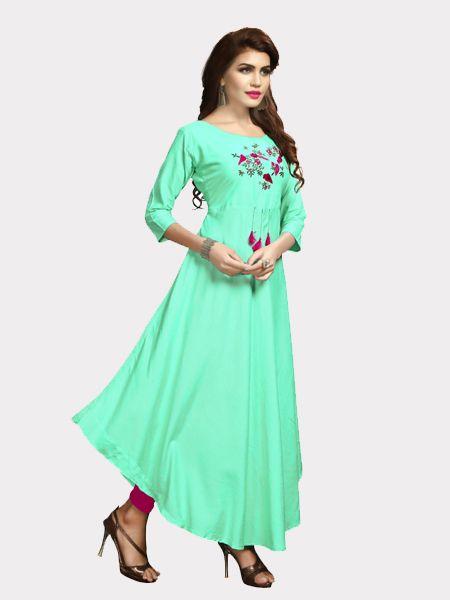 Buy Designer Rayon Kurti Online in India- YOYO Fashion