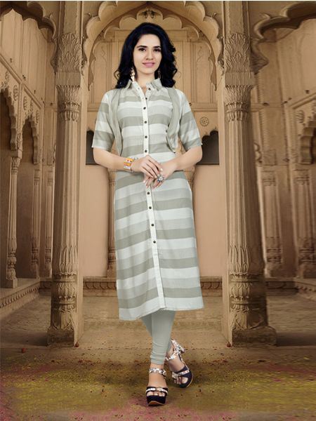 Buy Designer US Polo Rayon Kurti Online in India- YOYO Fashion