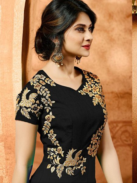 Superb Black Anarkali Salwar Suit