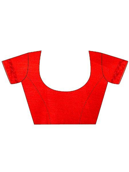 Latest Design Red Georgette Saree