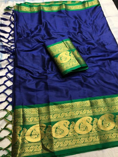 Blue Green Online >> Plain Sarees Buy Plain Sarees With Blouse For Women Online