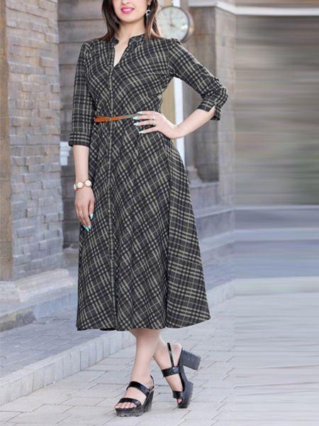 Buy Stylish Black Rayon Kurti Online in India- YOYO Fashion