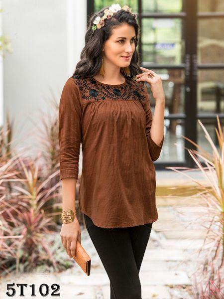 Brown Women's Tunic