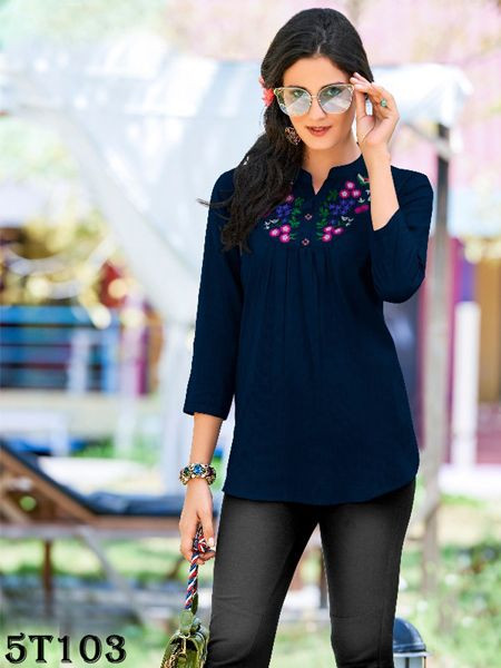Blue Women's Tunic