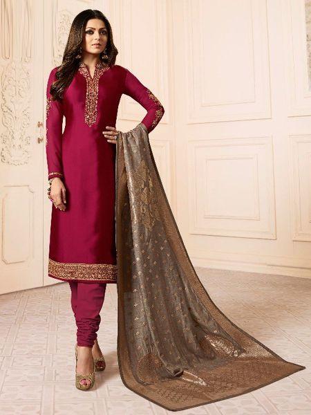 Designer Pink Salwar Suit