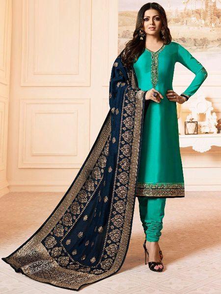 Designer Firoji Salwar Suit