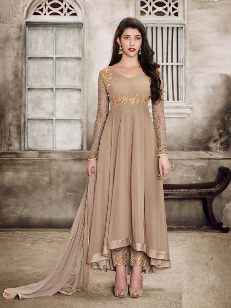 Buy Refined Embroidered Anarkali Salwar Suit Online -YOYO Fashion